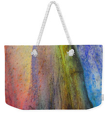 Weekender Tote Bag featuring the digital art Move On by Richard Laeton
