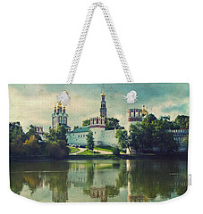 Novodevichy Convent. Moscow Russia Weekender Tote Bag by Juli Scalzi