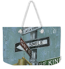 Nyc Inspiration 1 Weekender Tote Bag by Debbie DeWitt