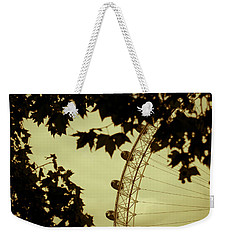 October Mist Weekender Tote Bag by Jan Bickerton