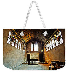 Of Stone And Wood Weekender Tote Bag by CJ Schmit
