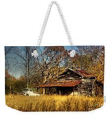 On A Back Road Weekender Tote Bag by Benanne Stiens