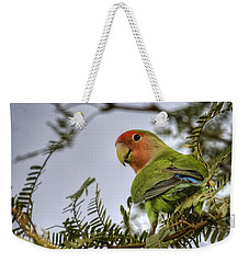 Over My Shoulder  Weekender Tote Bag by Saija  Lehtonen