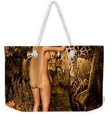 Persuaded Weekender Tote Bag by Lourry Legarde