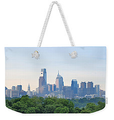 Philly Skyline Weekender Tote Bag by Bill Cannon