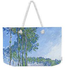 Poplars Weekender Tote Bag by Claude Monet