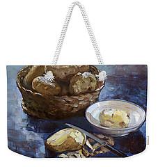 Potatoes Weekender Tote Bag by Ylli Haruni