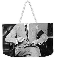 President Calvin Coolidge Weekender Tote Bag by International  Images