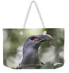 Red Eye Weekender Tote Bag by Douglas Barnard