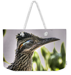 Roadrunner Portrait  Weekender Tote Bag by Saija  Lehtonen