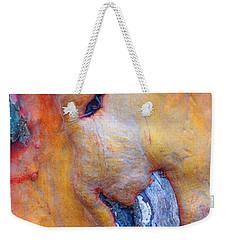 Weekender Tote Bag featuring the digital art Sacred by Richard Laeton