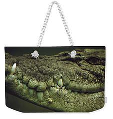 Saltwater Crocodile Teeth Weekender Tote Bag by Cyril Ruoso