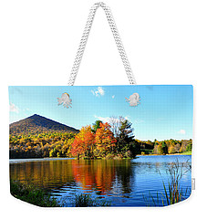 Sharp Top Mountain Weekender Tote Bag by Todd Hostetter