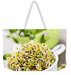 Sprouts In Cups Weekender Tote Bag by Elena Elisseeva