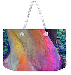 Weekender Tote Bag featuring the digital art Stretch by Richard Laeton
