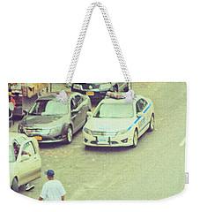 Summer In Harlem Weekender Tote Bag by Karol Livote
