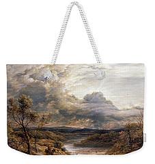 Sun Behind Clouds Weekender Tote Bag by John Linnell