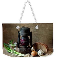 Supper Weekender Tote Bag by Nailia Schwarz