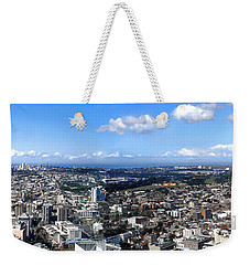 Sydney - Aerial View Panorama Weekender Tote Bag by Kaye Menner