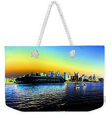 Sydney In Color Weekender Tote Bag by Douglas Barnard