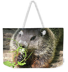 Taking Time To Smell The Flowers Weekender Tote Bag by Doris Potter