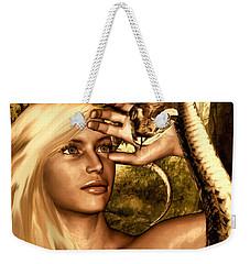 Temptation Weekender Tote Bag by Lourry Legarde