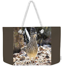 The Greater Roadrunner  Weekender Tote Bag by Saija  Lehtonen
