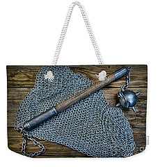 The Warriors Mace Weekender Tote Bag by Paul Ward