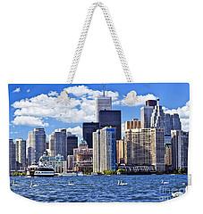 Toronto Waterfront Weekender Tote Bag by Elena Elisseeva