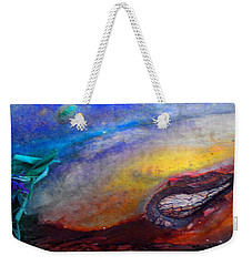 Weekender Tote Bag featuring the digital art Travel by Richard Laeton