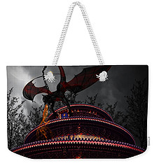 Unchained Protector Weekender Tote Bag by Lourry Legarde
