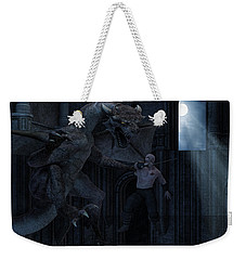 Under The Moonlight Weekender Tote Bag by Lourry Legarde