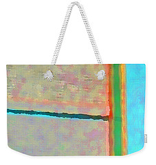 Weekender Tote Bag featuring the digital art Up And Over by Richard Laeton