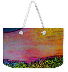 Weekender Tote Bag featuring the digital art Walk Into The Future by Richard Laeton