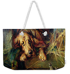 When The Cat's Away The Mice Will Play  Weekender Tote Bag by Philip Eustace Stretton