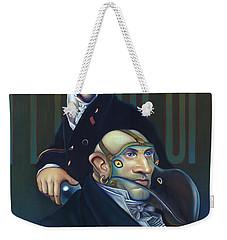 Yak Andrew Bienstjalk Weekender Tote Bag by Patrick Anthony Pierson