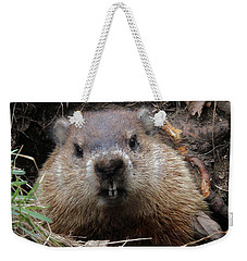 You Would Have A Dirty Face Too If You Lived Underground Weekender Tote Bag by Doris Potter