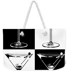Classic Martini  Weekender Tote Bag by Jon Neidert