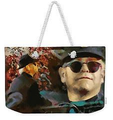 Elton John Weekender Tote Bag by Sergey Lukashin