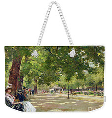 Hyde Park - London Weekender Tote Bag by Count Girolamo Pieri Nerli