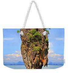 007 Island Weekender Tote Bag by Mark Ashkenazi