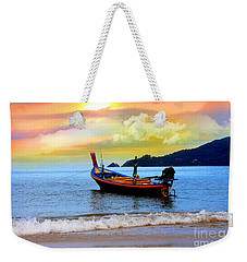 Thailand Weekender Tote Bag by Mark Ashkenazi