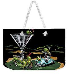 19th Hole Weekender Tote Bag by Michael Godard