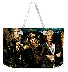 Aerosmith Collection Weekender Tote Bag by Marvin Blaine