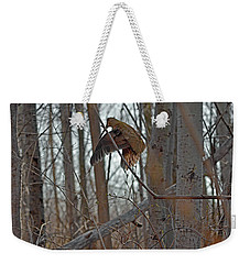 American Woodcock Behavior Weekender Tote Bag by Asbed Iskedjian