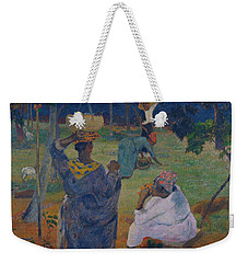 Among The Mangoes At Martinique Weekender Tote Bag by Paul Gauguin