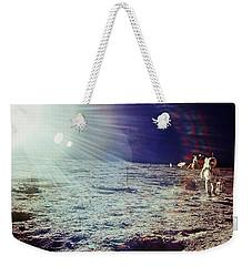 Apollo 12 Astronaut Weekender Tote Bag by Nasa