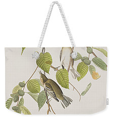 Autumnal Warbler Weekender Tote Bag by John James Audubon