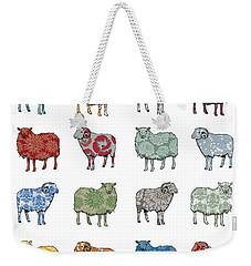 Baa Humbug Weekender Tote Bag by Sarah Hough