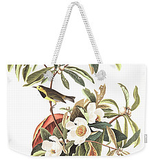 Bachman's Warbler  Weekender Tote Bag by John James Audubon